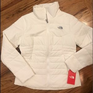 North Face White Down Coat